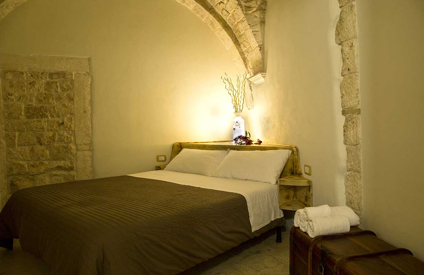 bed and breakfast putignano camera matrimoniale romantica
